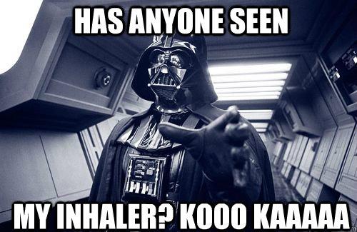 no inhaler for you